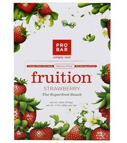 PROBAR Gluten-Free Strawberry Snack Bars (Box of 12)