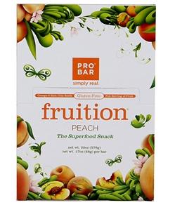 PROBAR Gluten-Free Peach Snack Bars (Box of 12)