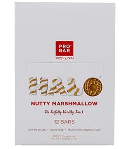 PROBAR HALO Organic Nutty Marshmallow Snack Bars (Box of 12)