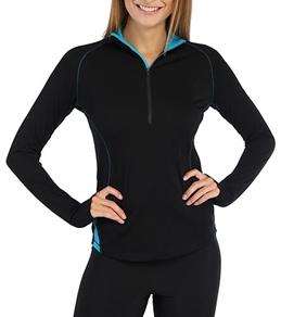 Icebreaker Women's Pace Long Sleeve Running Zip