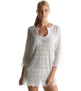 Laundry By Shelli Segal Capri Eyelet Tunic