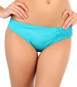 Laundry By Shelli Segal Smocked Solid Hipster Bottom