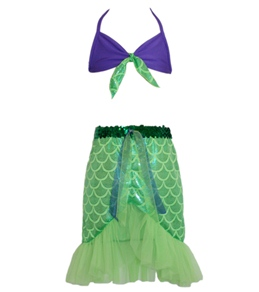 Shebop/Weebop Kids' Sea Lime Mermaid Swim Set (2-10)