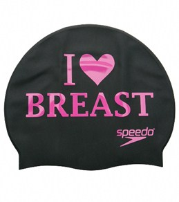 Speedo I Heart Breaststroke Swim Cap