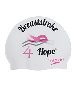 Speedo Breaststroke 4 Hope Swim Cap