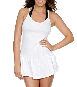 Eco Swim Eco Cover Ups T-Back Romper Dress