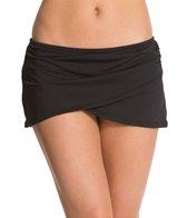 Anne Cole Color Blast Solids Sarong Swim Skirt
