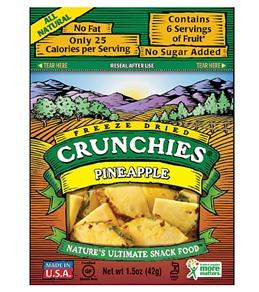 Crunchies Pineapple Freeze-Dried Snacks
