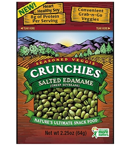 Crunchies Salted Edamame Freeze-Dried Snacks