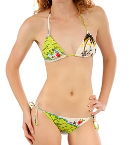 Billabong Girls' Could You Be Loved Triangle Set