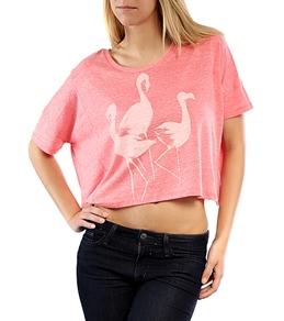Billabong Girls' Native Way Oversized Crop T-Shirt