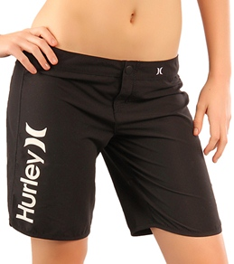"Hurley Girls' SuperSuede 9"" Beachrider Boardshorts"