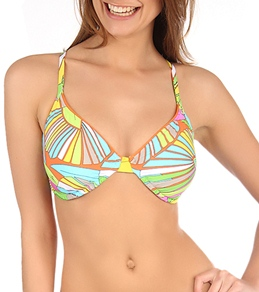 Trina Turk Deco Palms Underwire D-Cup Top