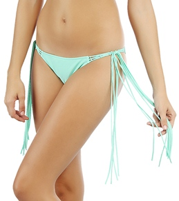 Rip Curl Girls' Aloha Solid Brazilian Tie Side Bottom