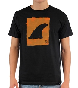 Rip Curl Men's Fins Out Organic S/S T-Shirt