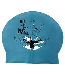 Sporti Hit Me Latex Swim Cap