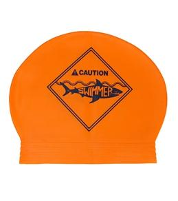 Sporti Caution Latex Swim Cap