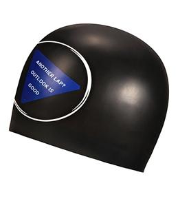 Sporti 8 Ball Silicone Swim Cap