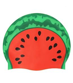 Sporti Watermelon Silicone Swim Cap