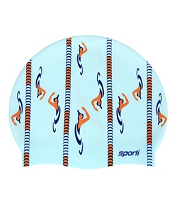 Sporti Short Course Silicone Swim Cap