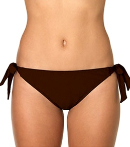 Sunsets Solid Soft Side Tie Bottom