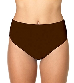Sunsets Solid Seamless High Waist Bottom