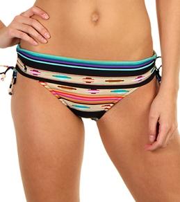Ralph Lauren Amara Stripe Shirred Side Kelly Bottom