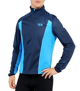 Mountain Hardwear Men's Effusion Power Running 1/2 Zip