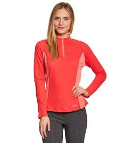 Mountain Hardwear Women's Aliso Long Sleeve Running Zip-T