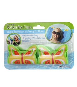 USA Pool & Toy Butterfly Towel Clips
