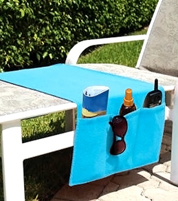 USA Pool & Toy Boca Chaise Organizer