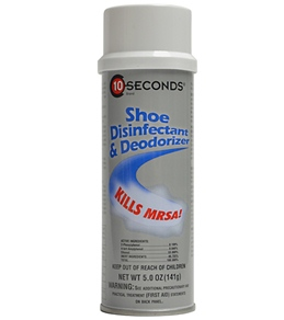 10 Seconds Shoe Disinfectant & Deodorizer