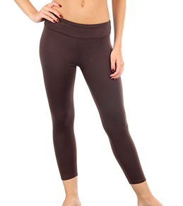 Tyoga Women's Skinny Crop Yoga Legging