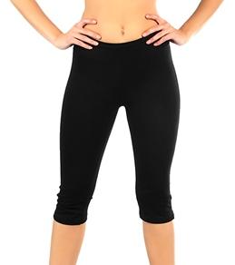 Tyoga Women's Skinny Guru Yoga Capri