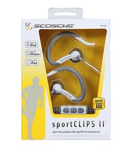 Scosche sportCLIPS II Earbuds with tapLINE III