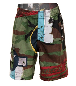 Quiksilver Kids' Flying Fortress Volley Shorts (2T-7X)
