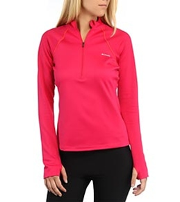 Columbia Women's Extreme Fleece Long Sleeve Running 1/2 Zip