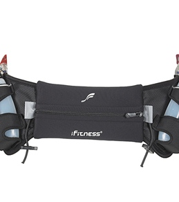 iFitness 2 Bottle Neoprene Hydration Belt