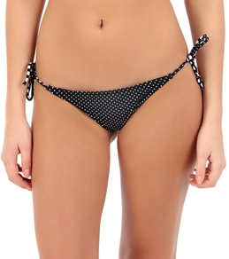 Volcom Girls' Slightly Stoned Flutter Tie Side Bottom