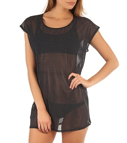 Volcom Girls' Slightly Stoned Mesh Cover Up