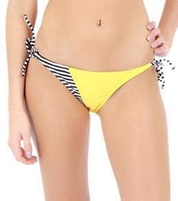Volcom Girls' Optical Tropical Tie Side Bottom