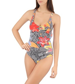 Volcom Girls' Optical Tropical One Piece