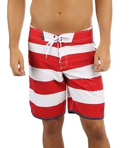 Lost Guys' Iconics Pirate Stripe Board Shorts