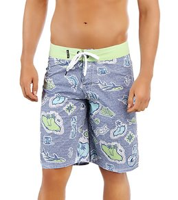 Lost Guys' Lost At Sea Board Shorts