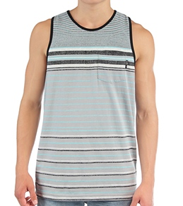 Lost Guys' Chalk Stripe Tank