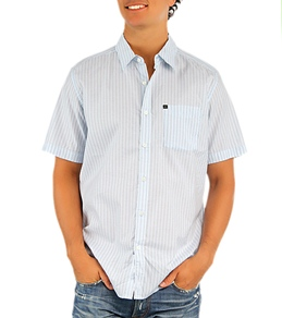 Quiksilver Men's Spinster S/S Button-up Shirt