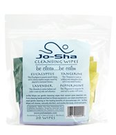 Hugger Mugger Jo-Sha Yoga Mat Wipes - Mix of 4 Scents