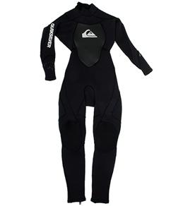 Quiksilver Syncro Boys' Back Zip Fullsuit 3/2 MM