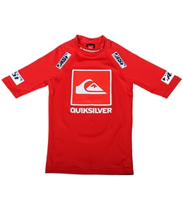 Quiksilver Boys Kelly Slater Short Sleeve Rash Guard