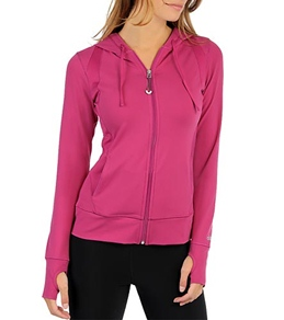 Alo Women's Mesh Inset Synergy Yoga Hoodie